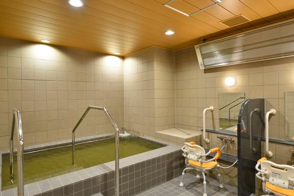 浴室(ささしま天然温泉)