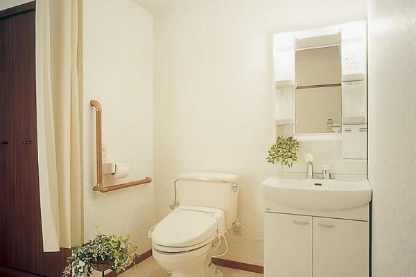 居室には、トイレ・洗面所を設置