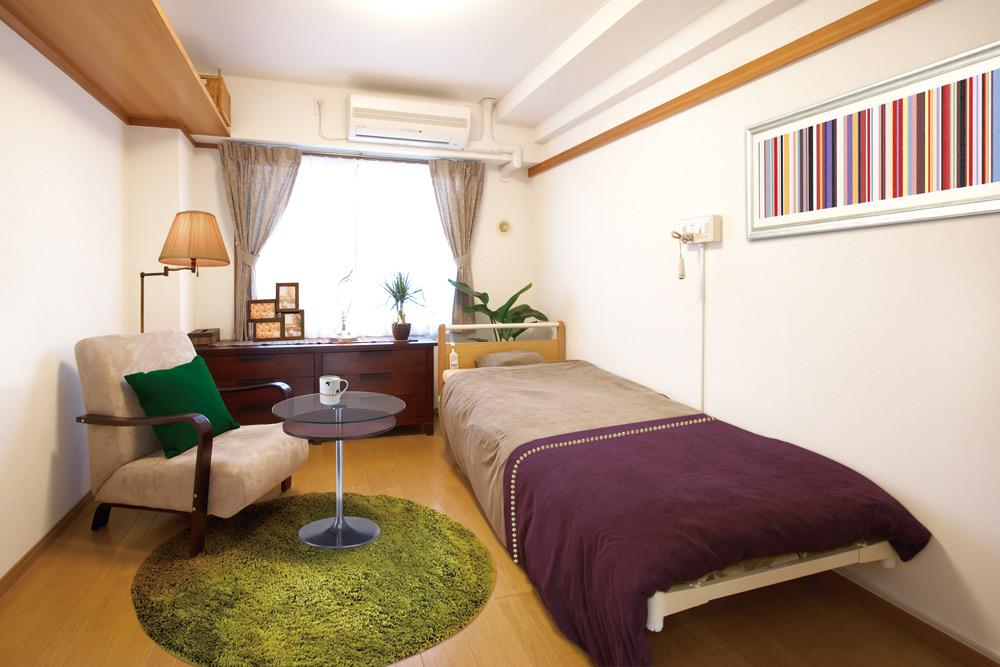 シンプルで機能的な居室